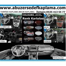 Volkswagen Jetta Maun Kaplama 2013 üzeri 13 Parça