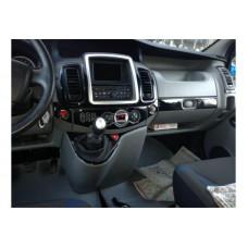 Opel Vivaro - Traffic Piyano Bleck Maun Kaplama 2011 ÜZERİ 16 Parça