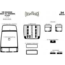 Volkswagen Sharan Maun Kaplama 2000-2009 24 Parça ...