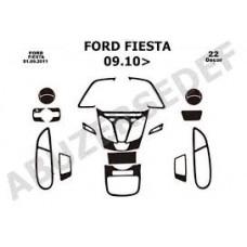Ford Fiesta 2010 sonrası maun kaplama